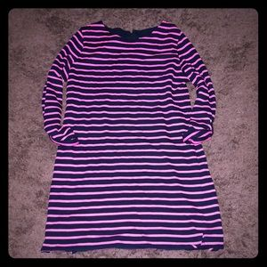 Merona Dresses - Merona pink and blue stripes dress